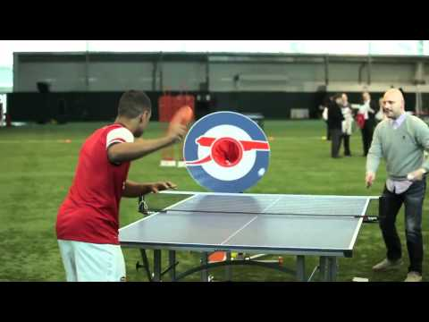 Arsenal Target Practice: Wojciech Szczesny Hits Wengers Car: Kit Launch 2012-2013