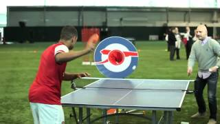 Arsenal Target Practice: Wojciech Szczesny Hits Wengers Car: Kit Launch 2012-2013