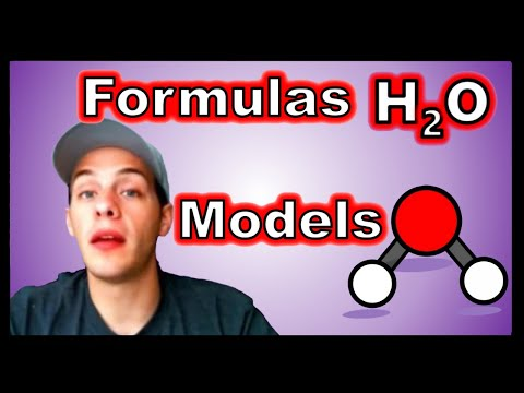 Chemical Formulas and Molecular Models