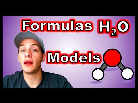 Chemical Formulas and Molecular Models