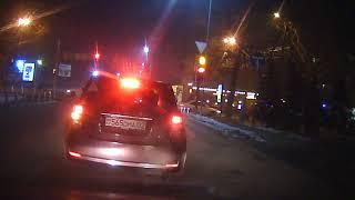 Съемка видеорегистратором WD84 в ночное время