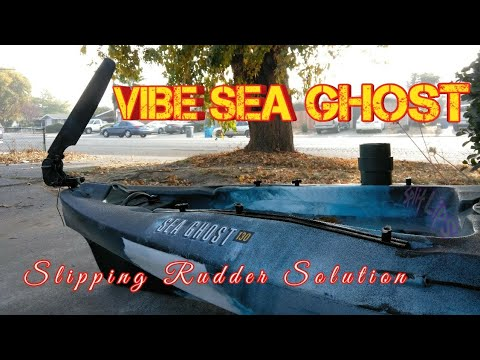 Repeat VIBE Sea Ghost, Slipping rudder solution by Split