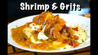 How To Make Shŗimp & Grits | The Best Ever Shrimp & Grits Recipe #MrMakeItHappen #Seafood