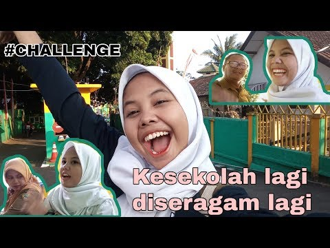 CHALLENGE PAKE BAJU SEKOLAH KE SEKOLAH LAMA | PADAHAL UDAH ALUMNI || AULIAPEO