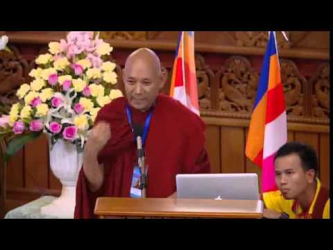 Ven. Bhikkhu Sanghasena's Speech At World Buddhist Peace Conference, Myanmar