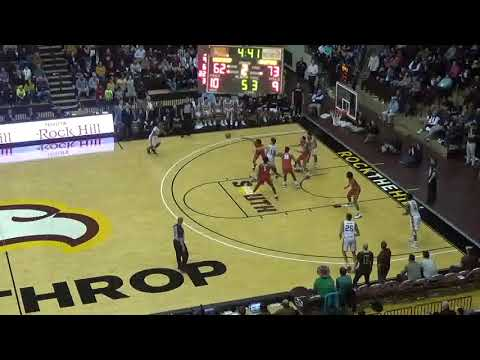 Russell Jones JR - Winthrop Freshman PG Highlights