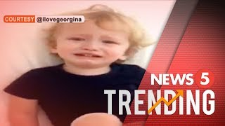 Adobo craving ng anak ni Georgina Wilson, trending sa social media