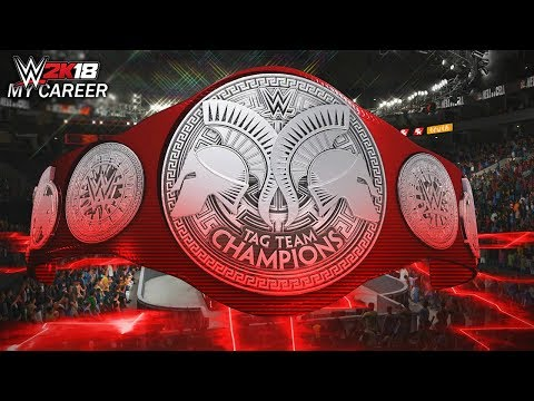 WWE 2K18 My Career Mode - Ep 50 - RAW TAG TEAM CHAMPIONSHIP MATCH!! HIAC PPV!!