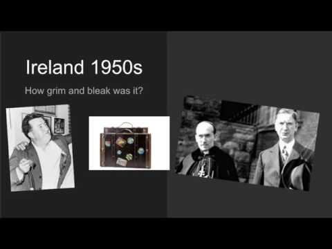 How bleak and grim was Ireland in the 1950s?