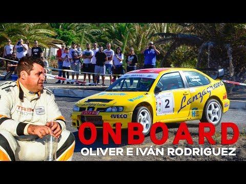 ONBOARD Oliver e Iván Rodríguez |39º Rally Orvecame Isla de Lanzarote