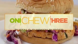 How To Make A Buffalo Chicken Burger - The Chew