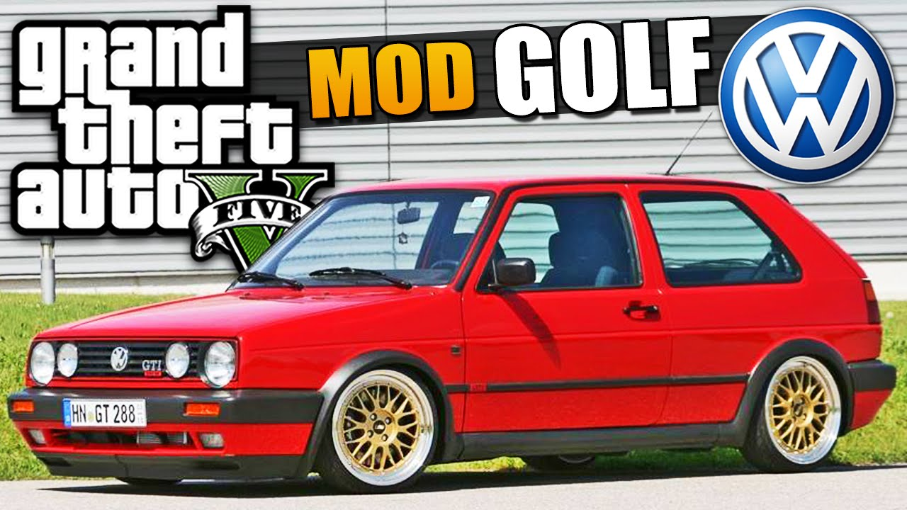 Well-known GTA V MOD CARRO: Golf GTI - YouTube PW51