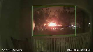 CCTV Footage Captures 'Massive' Early Morning Houston Explosion