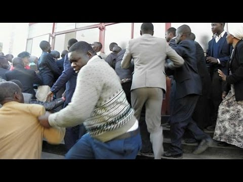 JAMAICAN FIGHT (2016) - Church Fight 2016