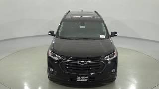 181582 - New 2018 Chevrolet Traverse Black Review