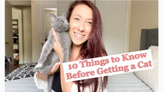10 THINGS I WISH I KNEW BEFORE GETTING A KITTEN