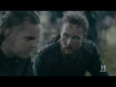 Ubbe Y Rey Harald Intentan Convencer A Sus Hermanos De Quedarse | Vikings 5x8 Sub Español