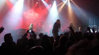 Obituary live at Le Metronum - 2015/01/28