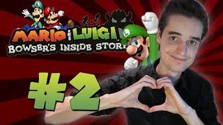 IK HOU VAN LUIGI! - Mario & Luigi Bowser
