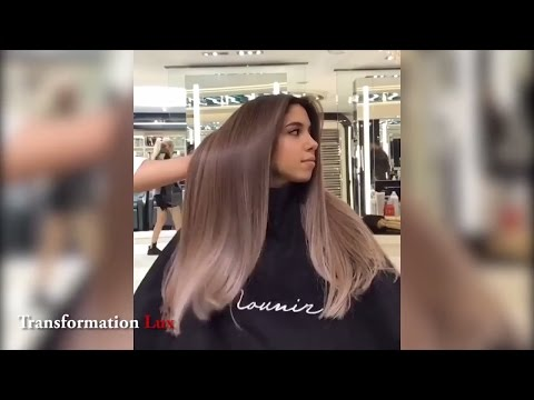 Прическа на средние волосы. Женская стрижка каре боб 2016. Укладка локоны.