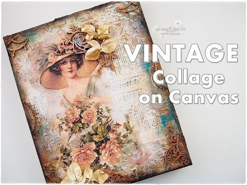 Vintage Collage on