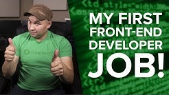 Got My 1st Web Developer Job! No CS Degree Required.