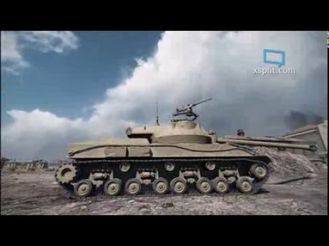 9.14 Test server of the American HD tanks yay! ~ World of tanks