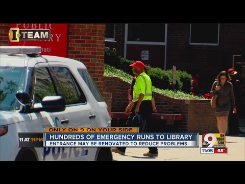 Hundreds of emergency runs to library