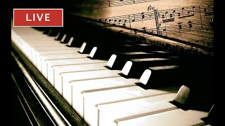 ♫ Classical Live Piano - Music Live 24/7: focus music, study music, relaxing music ♫