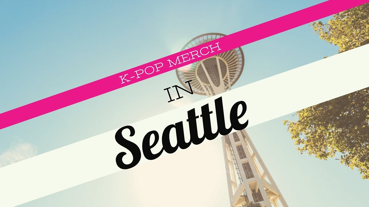 KPOP Merch in SEATTLE!!! BTS, EXO, VIXX, SHINEE