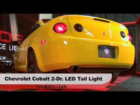 Spyder Auto Installation 2005 10 Chevrolet Cobalt Coupe Led Tail Lights You