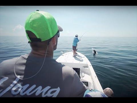 Florida Sportsman Best Boat - Sea Born FX25, Sea Lion 27TE, Young Gulfshore 26