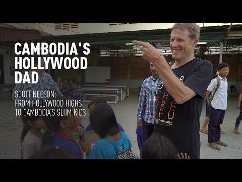 Cambodia's Hollywood Dad. Scott Neeson and Cambodia's slum kids (Trailer) Premiere 7/4