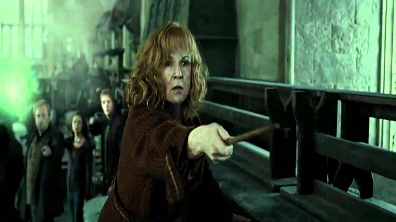Molly Vs Bellatrix Death Scene Hd Youtube