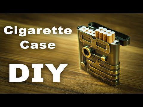 Steampunk Cigarette Сase How to Make DIY 3#