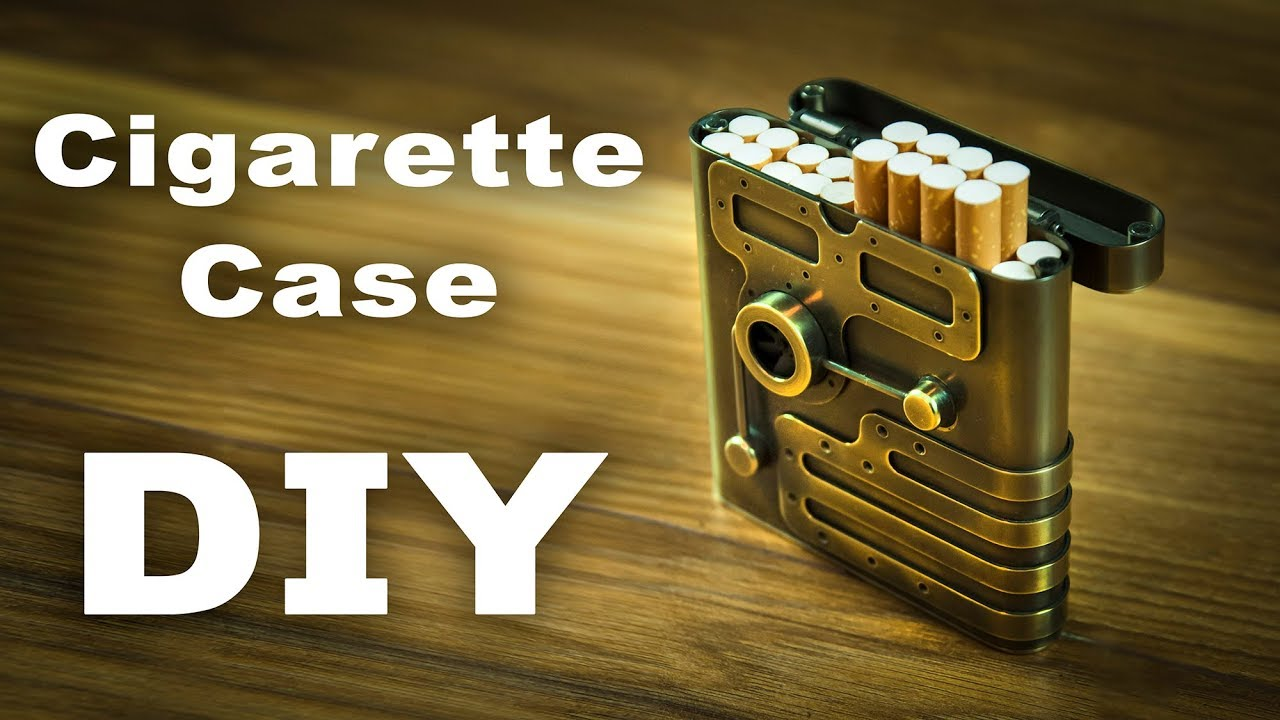 Steampunk Cigarette Сase How to Make DIY