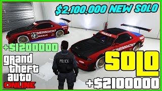 (NO EXPENSIVE REQUIREMENTS) GTA 5 SOLO Money Glitch 2,000,000 IN MINUTES! (PS4/XBOX) NEW EASY MONEY!