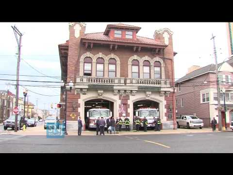 Atlantic City Business Owner Buys Flag and Flag Pole for ACFD