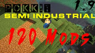 Pokkit Semi Industrial ModPack 120 Mods 1.9 [HD]