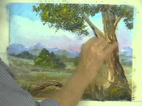 Oil Painting Secrets Painting Tree Foliage Using