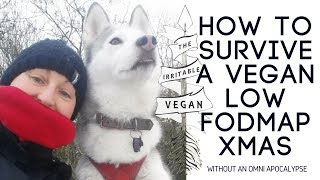 5 Tips to survive a vegan low FODMAP Christmas