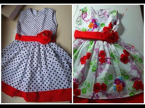 PARTE 2 - COSTURA DO VESTIDO INFANTIL   Juliana Dantas (child Dress)