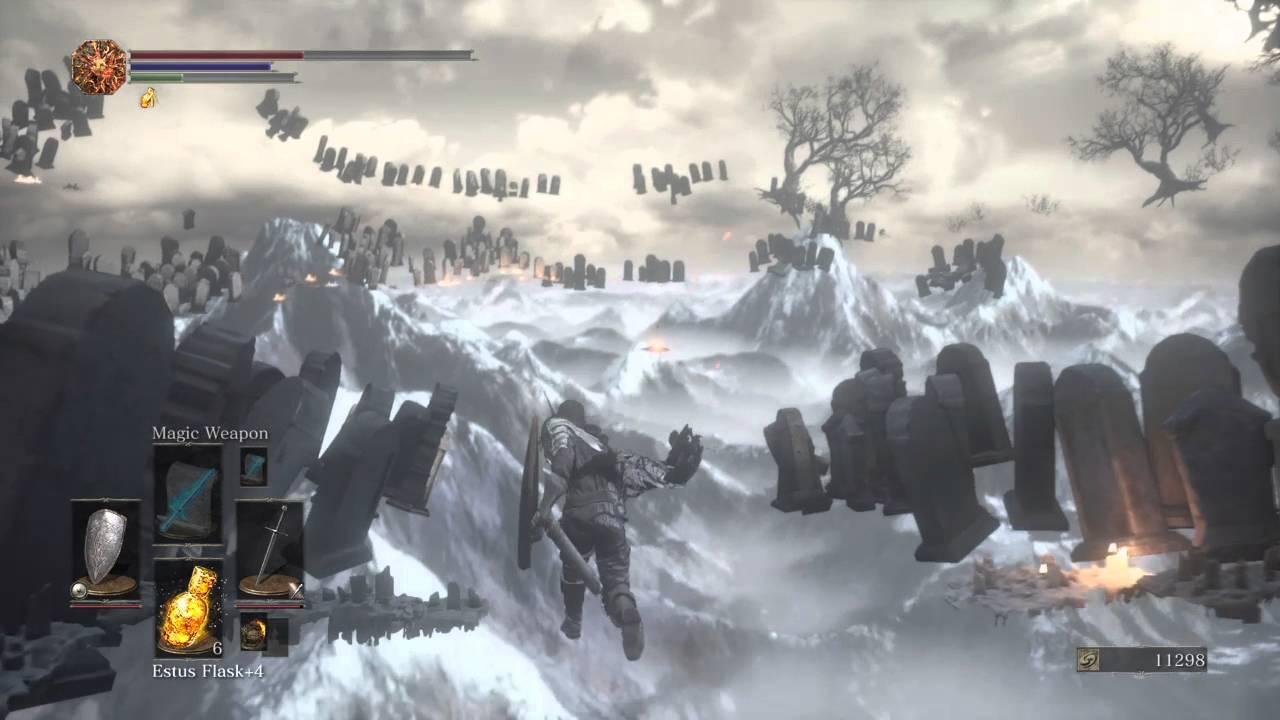 Dark Souls Iii Map Glitch Youtube