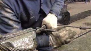 Простое и надежное плетение стального каната(троса).(, 2016-07-13T15:54:13.000Z)