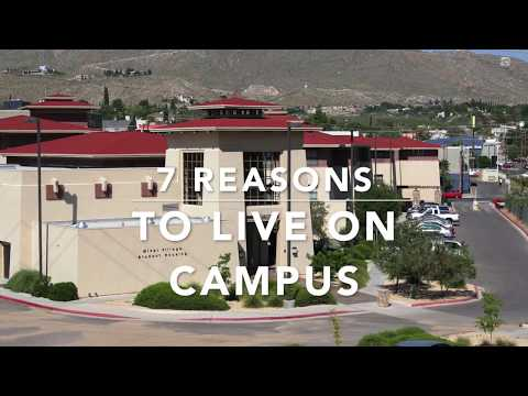 7 Reasons To Live On Campus UTEP Residence Life