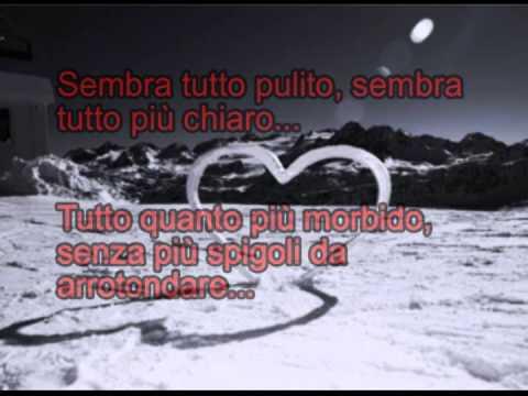 La neve se ne frega - Ligabue (con testo)