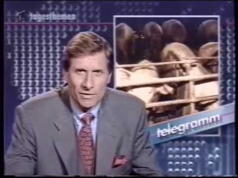 ARD 26.03.1994 Tagesthemen Telegramm Der 7. Sinn   Geisterfahrer