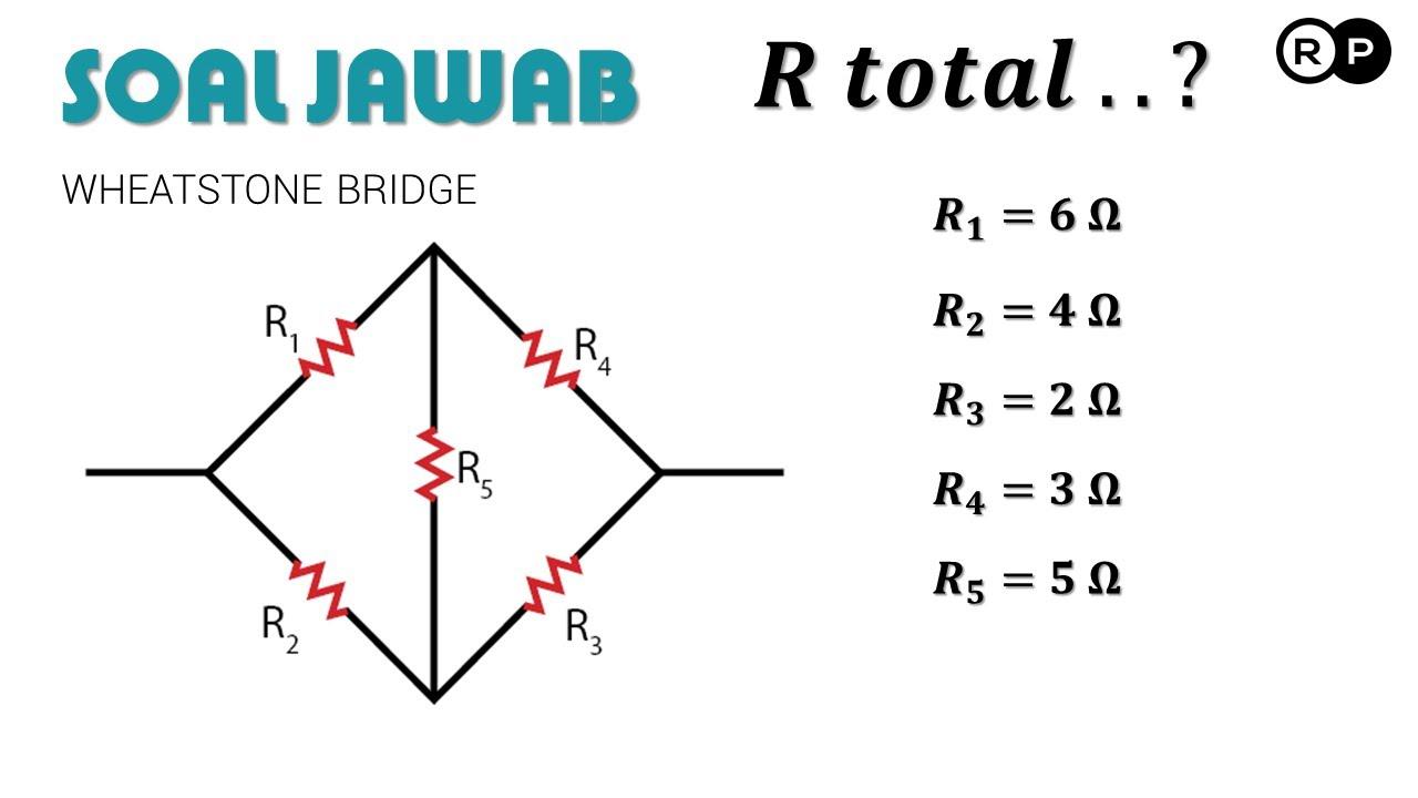 Analisis Rangkaian Wheatstone Bridge Fisika Youtube