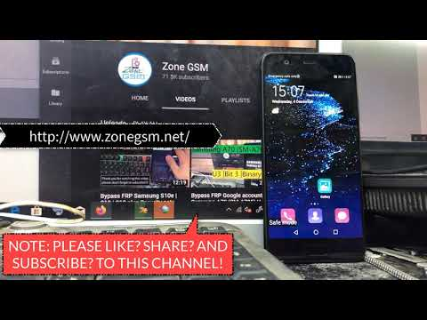 BOOM!!! Huawei P10 VTR-L09/ VTR-L29. Remove Google Account,Bypass FRP