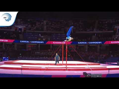 Anton KOVACEVIC (CRO) - 2018 Artistic Gymnastics Europeans, qualification high bar